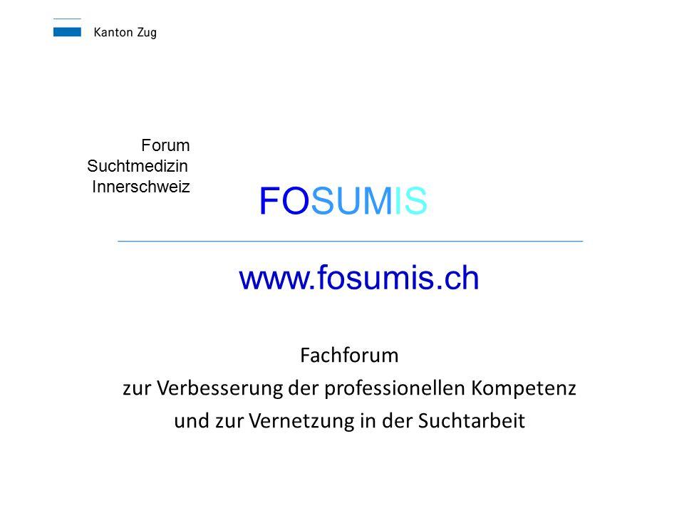 FOSUMIS www.fosumis.ch Fachforum