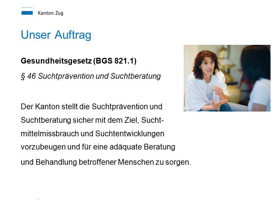 Unser Auftrag Gesundheitsgesetz (BGS 821.1)