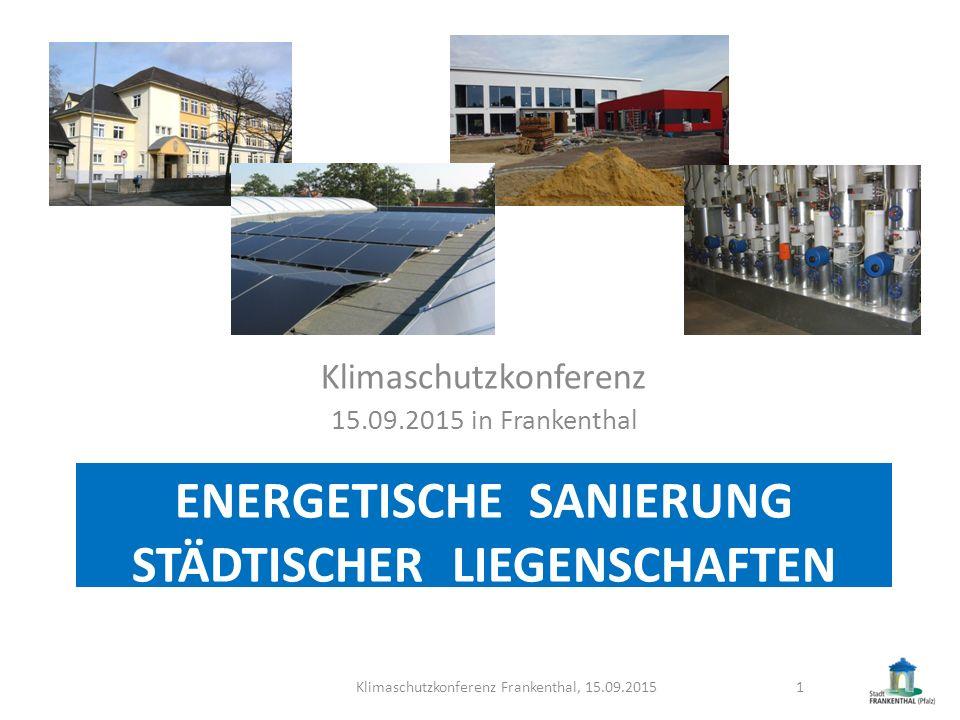 Energetische sanierung städtischer liegenschaften