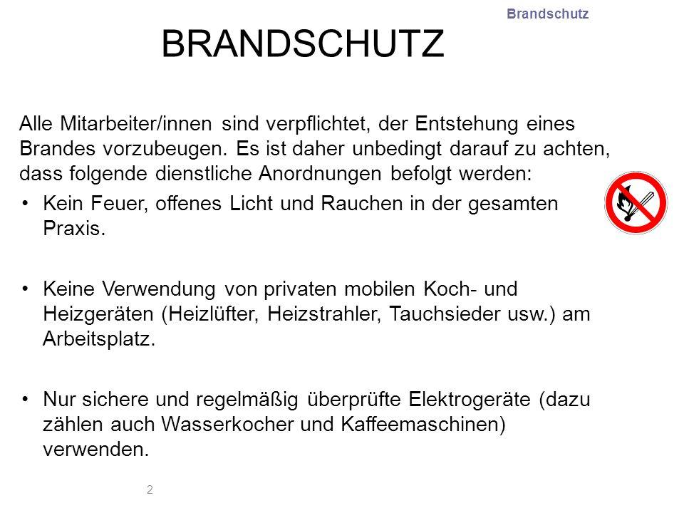 Brandschutz BRANDSCHUTZ.