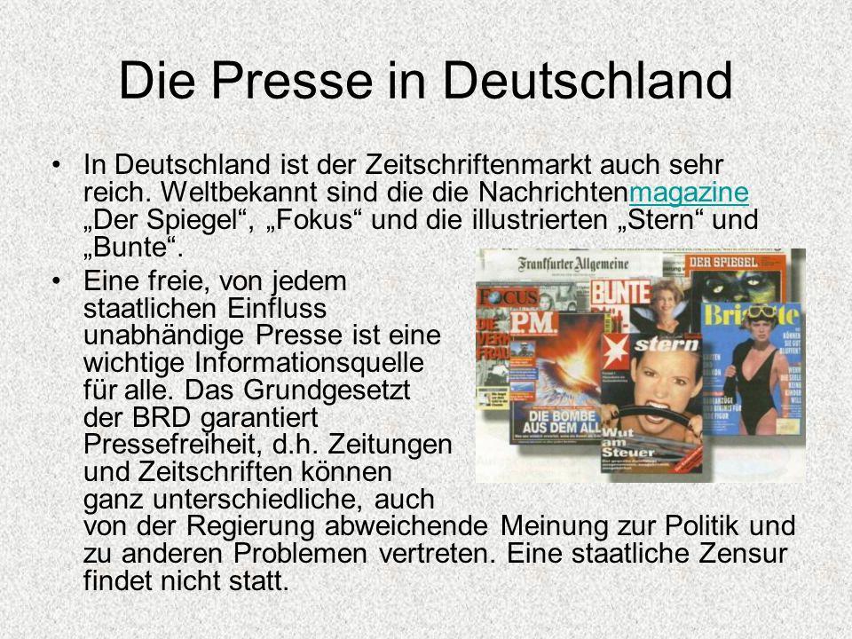 Die Presse in Deutschland