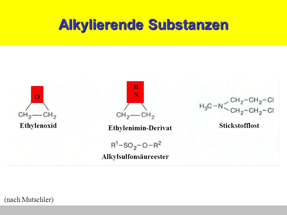 Alkylierende Substanzen