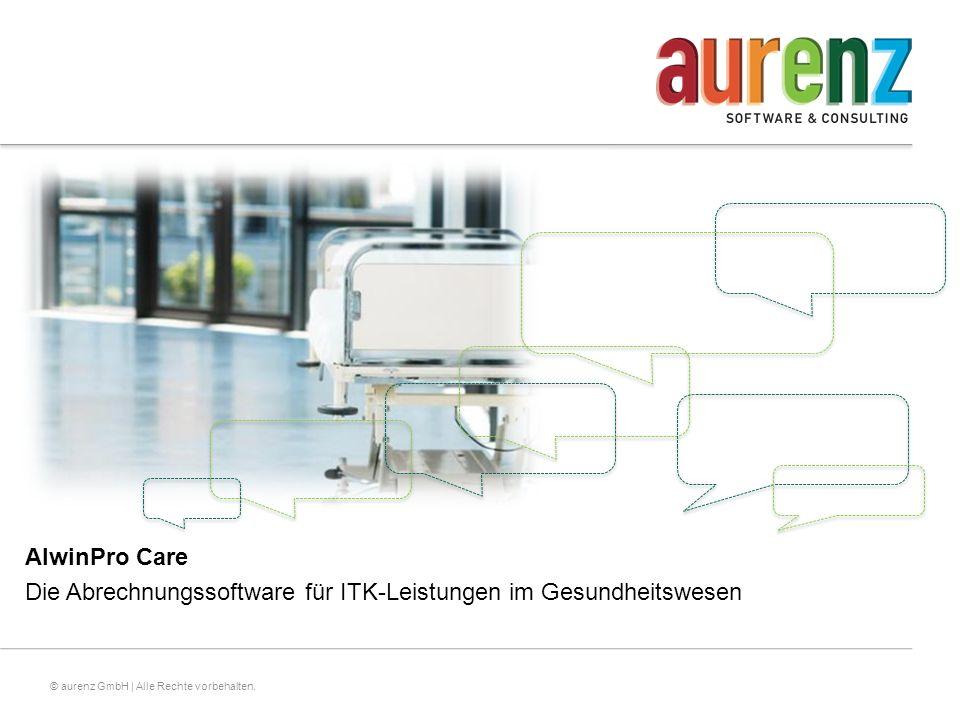 AlwinPro Care Die Abrechnungssoftware für ITK-Leistungen im Gesundheitswesen