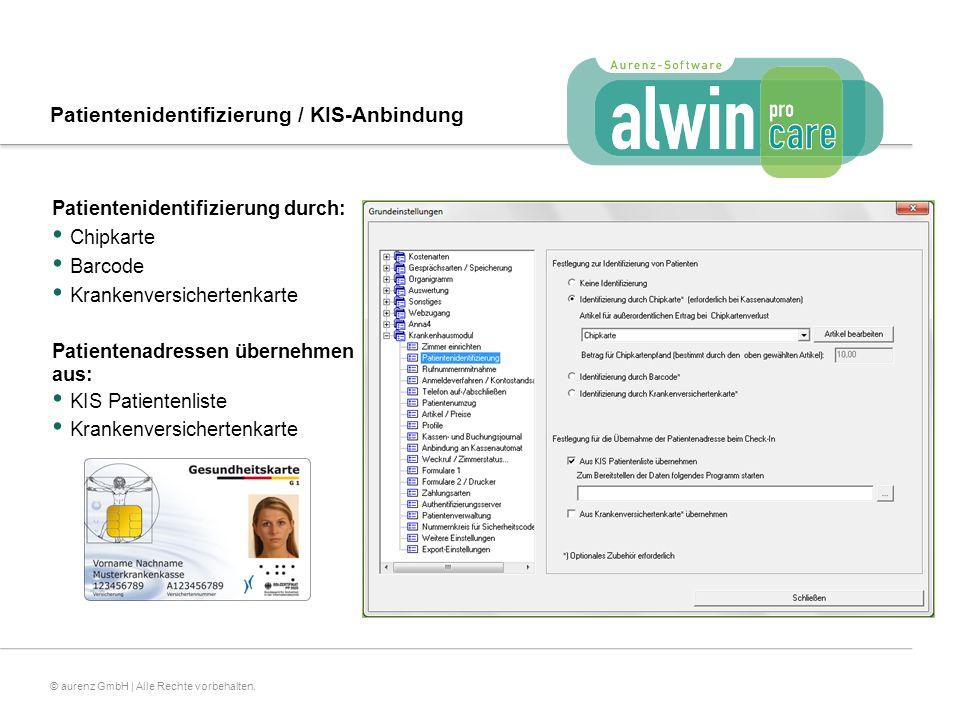 Patientenidentifizierung / KIS-Anbindung