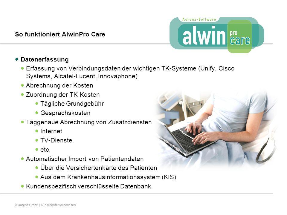 So funktioniert AlwinPro Care