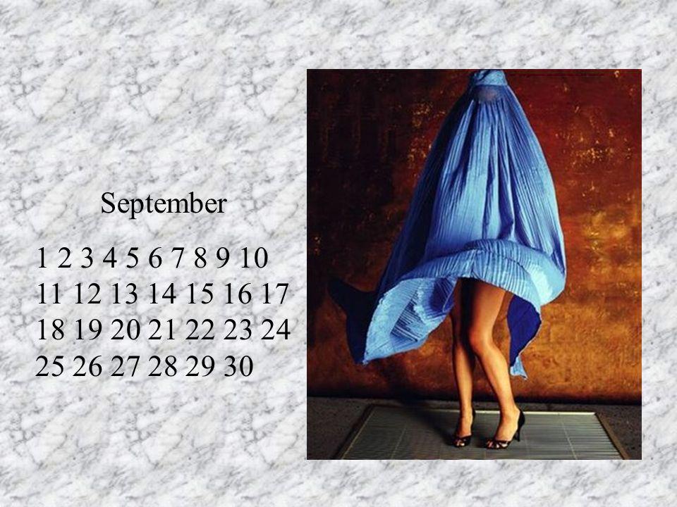 September 1 2 3 4 5 6 7 8 9 10 11 12 13 14 15 16 17 18 19 20 21 22 23 24 25 26 27 28 29 30 RT 11