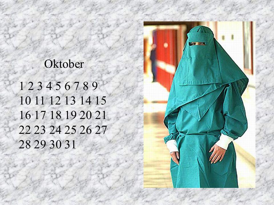 Oktober 1 2 3 4 5 6 7 8 9 10 11 12 13 14 15 16 17 18 19 20 21 22 23 24 25 26 27 28 29 30 31. RT.