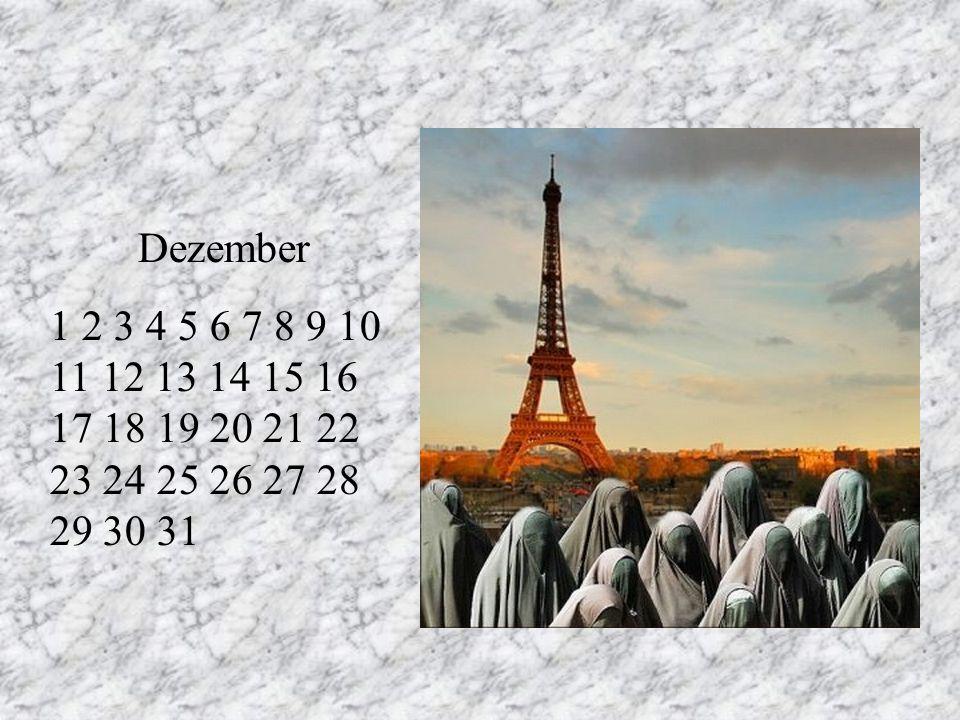 Dezember 1 2 3 4 5 6 7 8 9 10 11 12 13 14 15 16 17 18 19 20 21 22 23 24 25 26 27 28 29 30 31. RT.