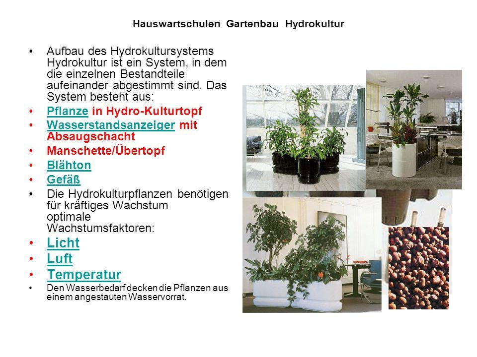 hauswartschulen gartenbau hydrokultur ppt video online. Black Bedroom Furniture Sets. Home Design Ideas
