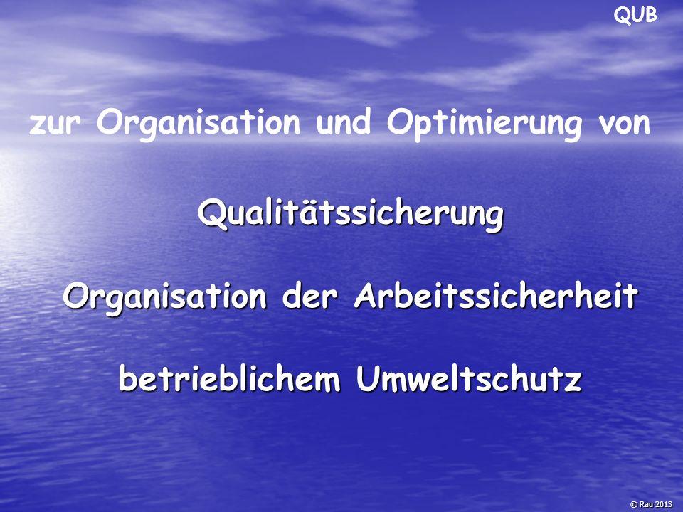zur Organisation und Optimierung von