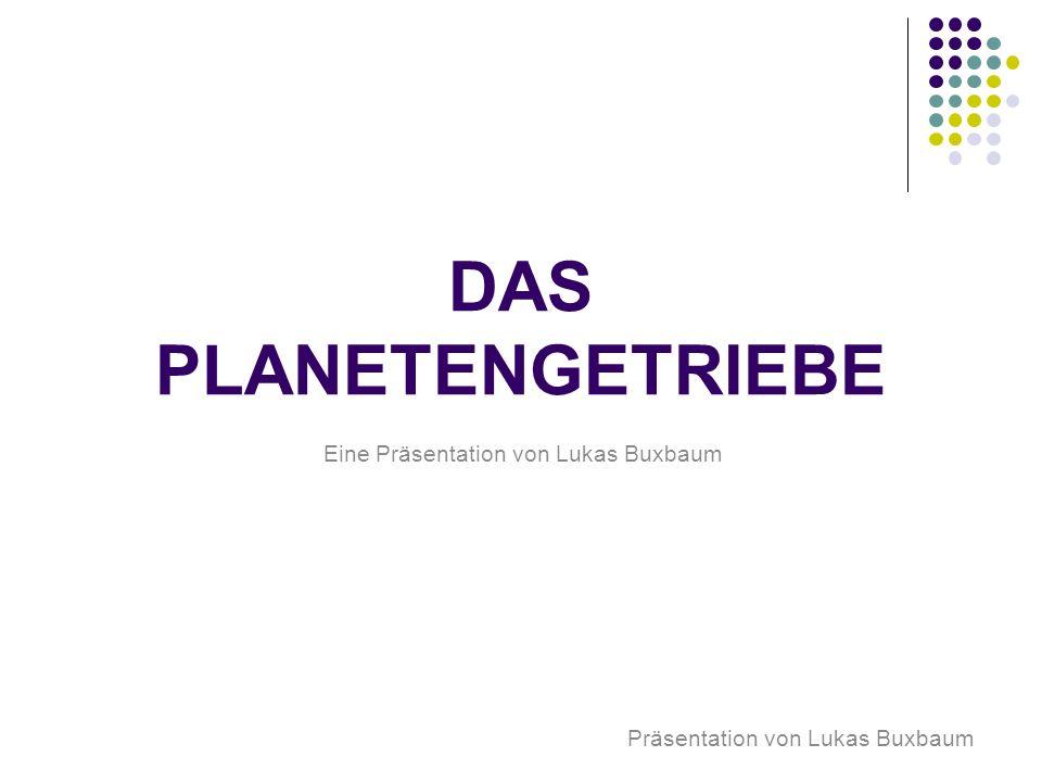 Eine Präsentation von Lukas Buxbaum