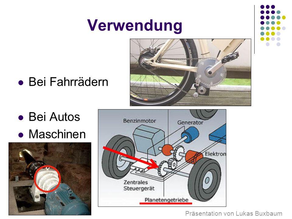 Präsentation von Lukas Buxbaum