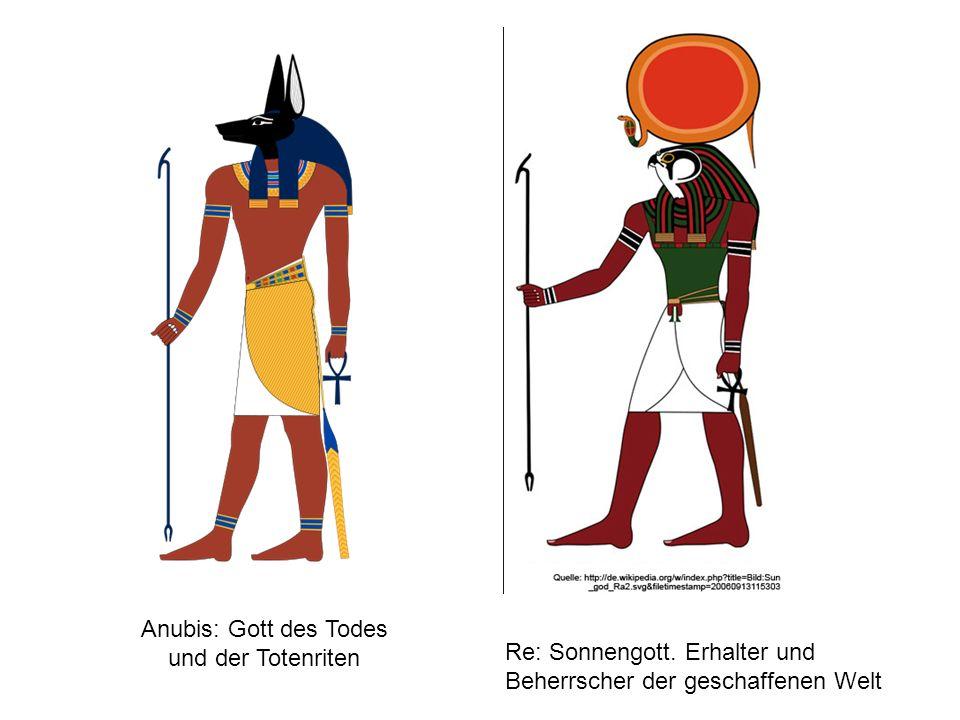 Anubis: Gott des Todes und der Totenriten