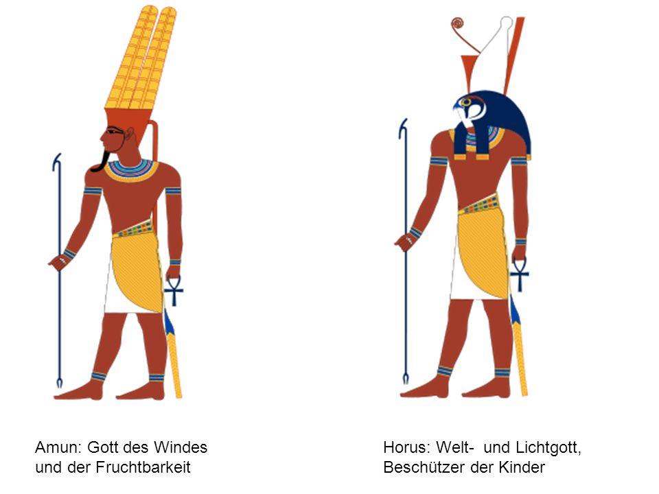 Amun: Gott des Windes und der Fruchtbarkeit