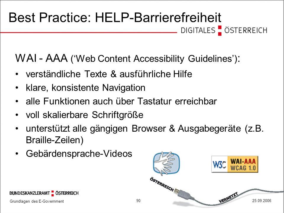 Best Practice: HELP-Barrierefreiheit