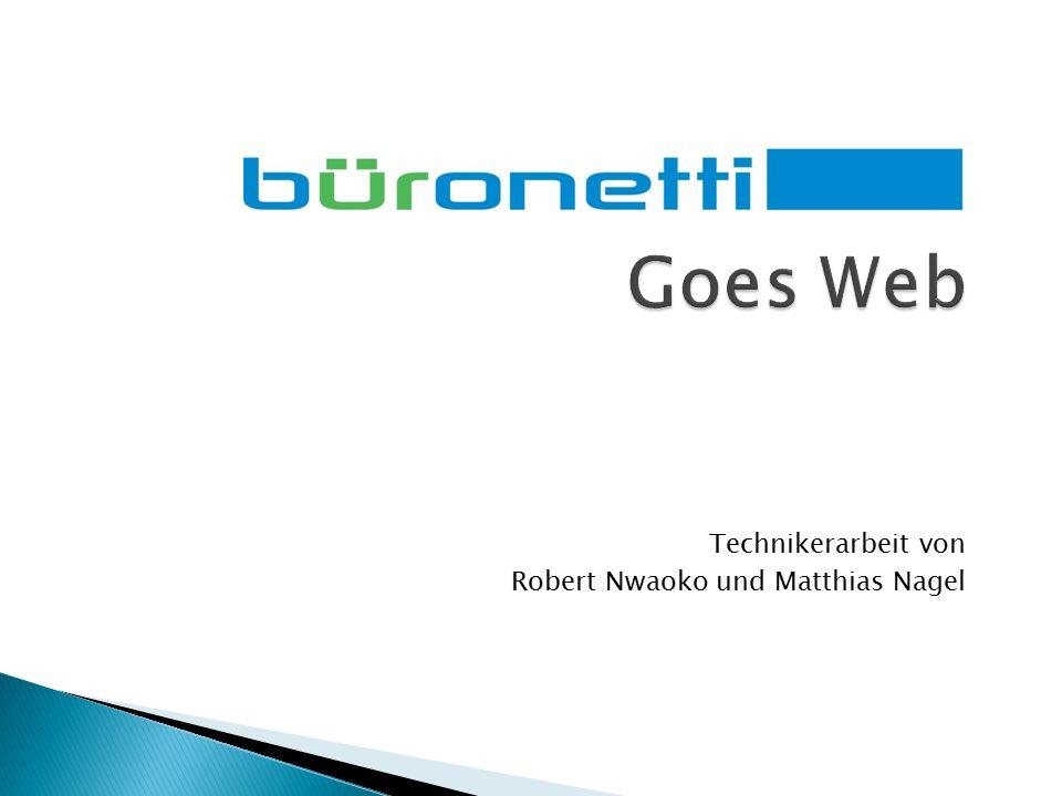 Technikerarbeit von Robert Nwaoko und Matthias Nagel