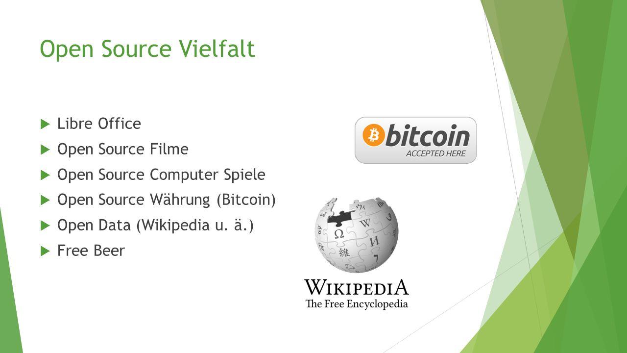 Open Source Vielfalt Libre Office Open Source Filme