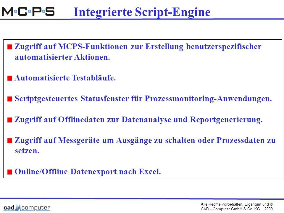 Integrierte Script-Engine