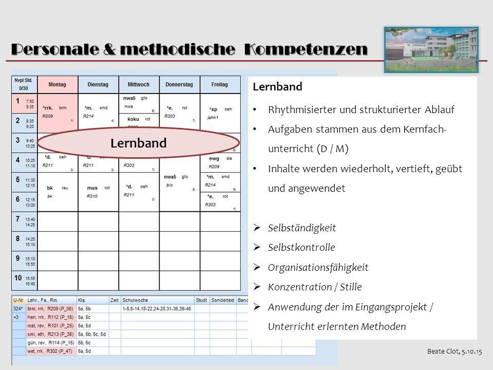 Personale & methodische Kompetenzen