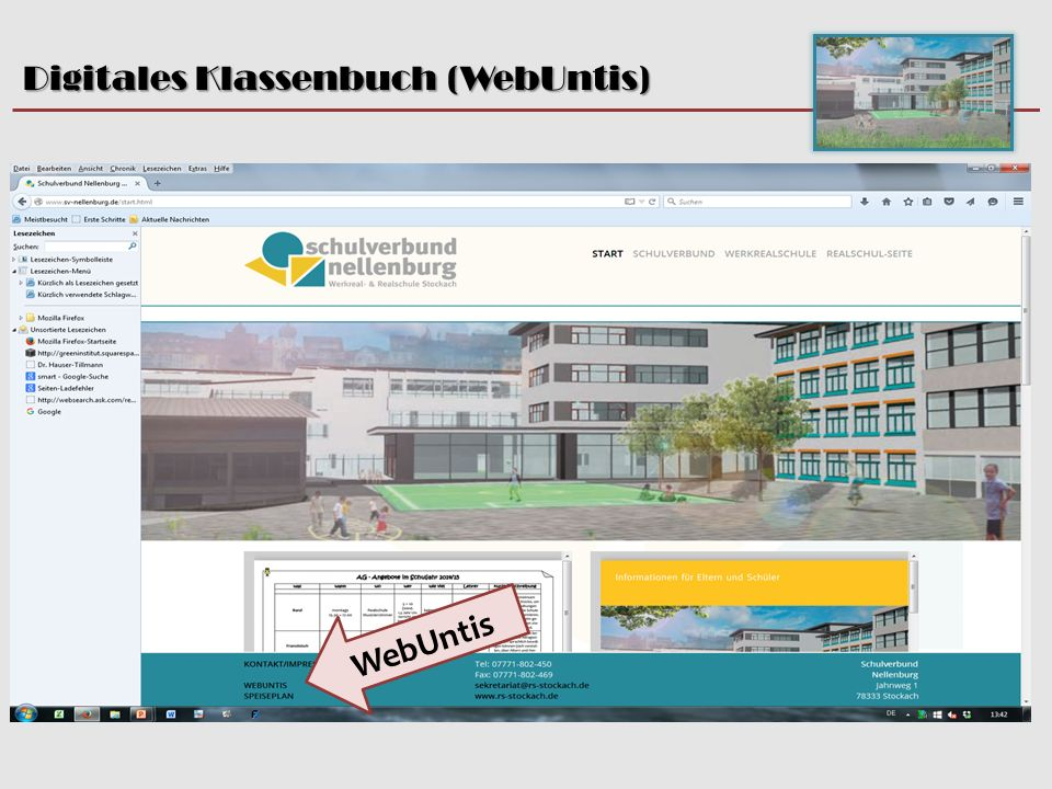 Digitales Klassenbuch (WebUntis)