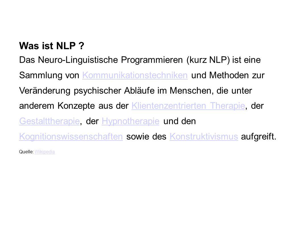 Was ist NLP