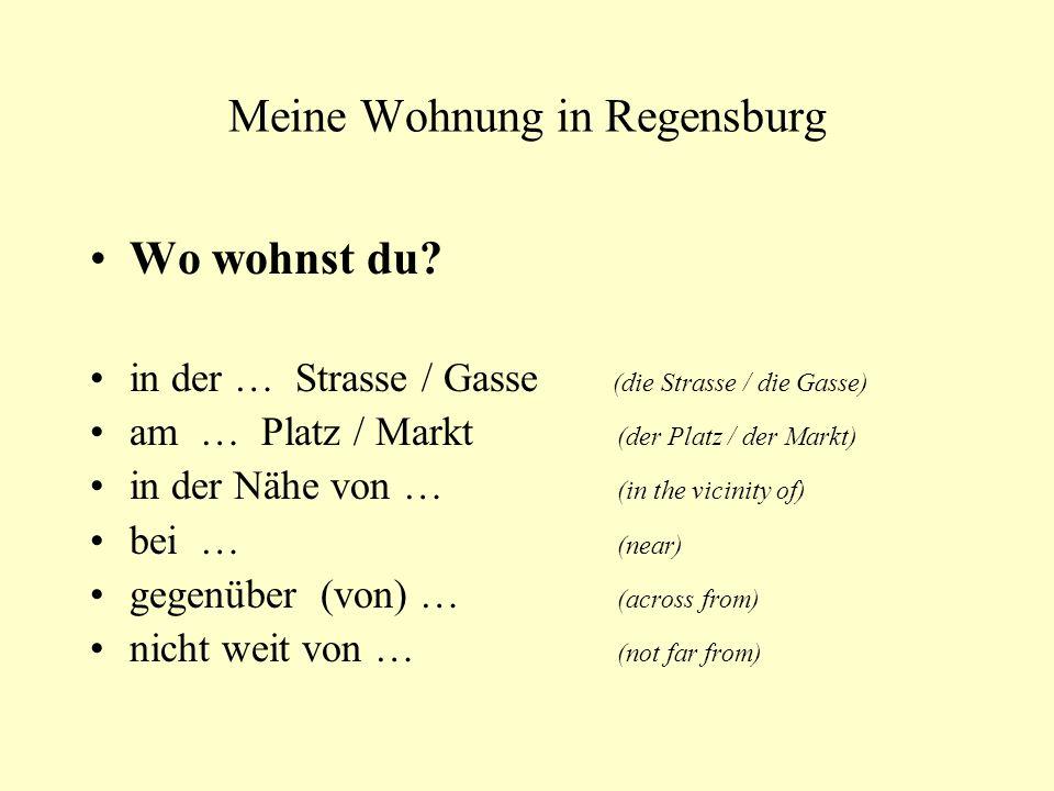 Meine Wohnung in Regensburg