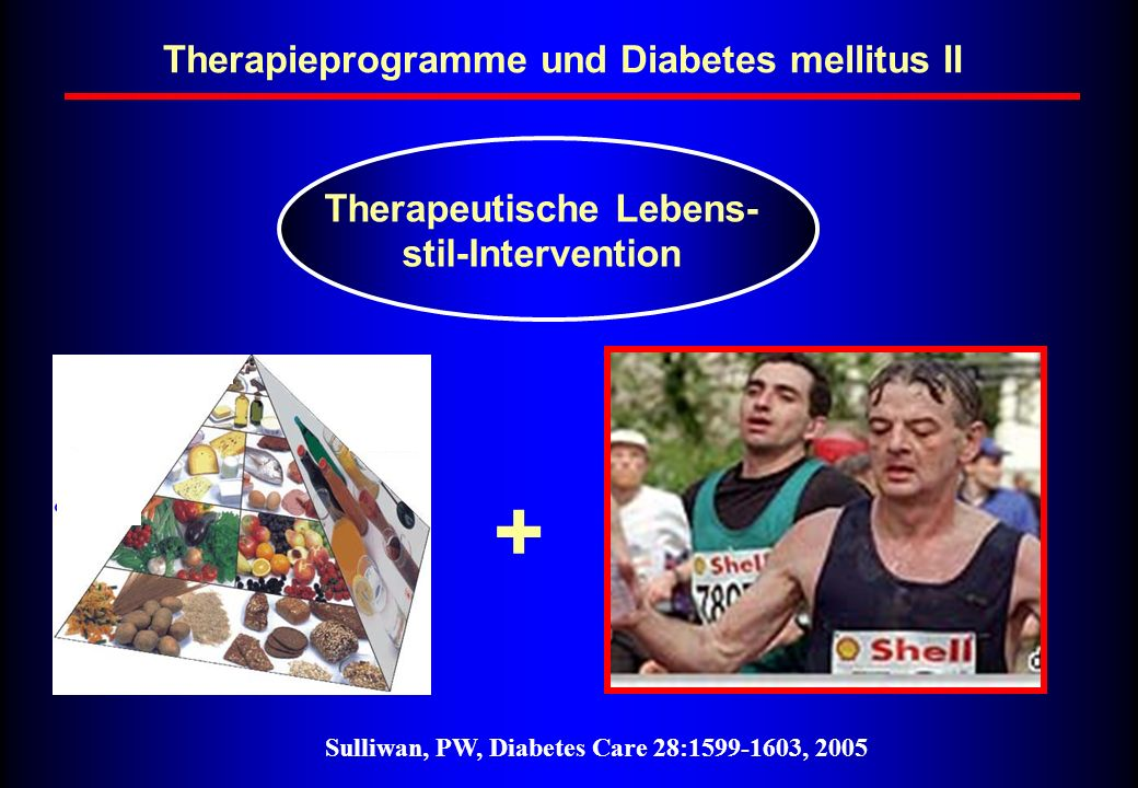 Therapieprogramme und Diabetes mellitus II Therapeutische Lebens-