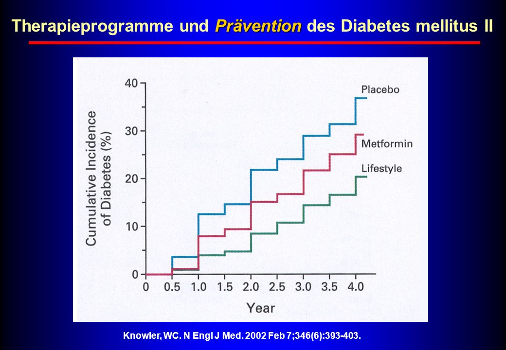 Therapieprogramme und Prävention des Diabetes mellitus II