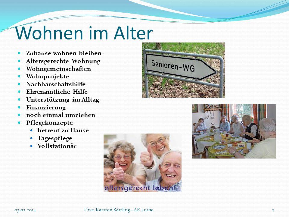 Wohnen im Alter Zuhause wohnen bleiben Altersgerechte Wohnung