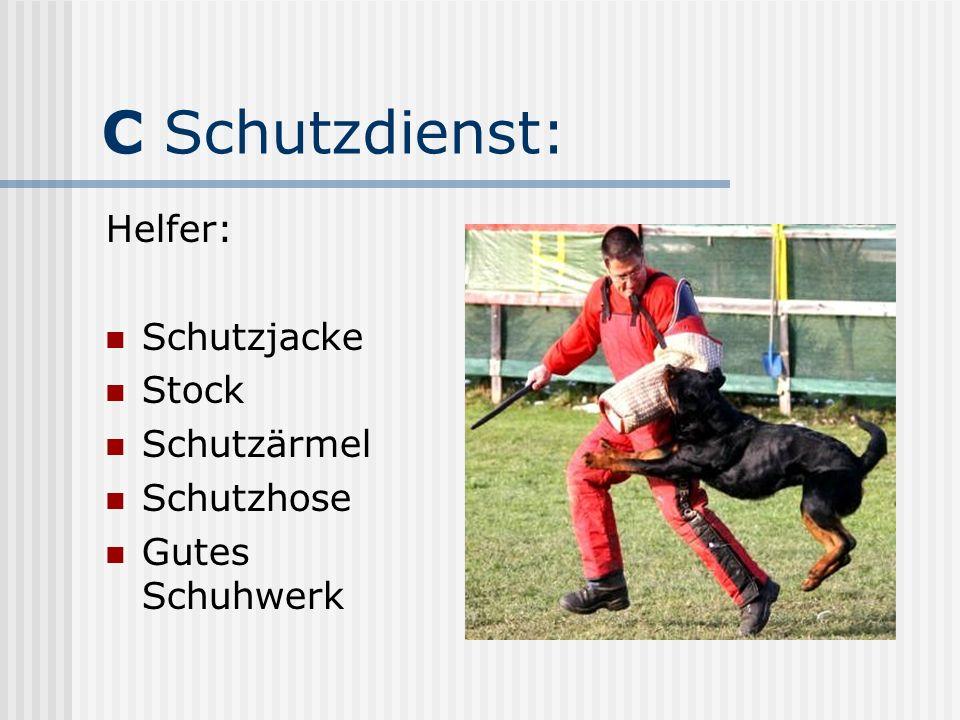 C Schutzdienst: Helfer: Schutzjacke Stock Schutzärmel Schutzhose