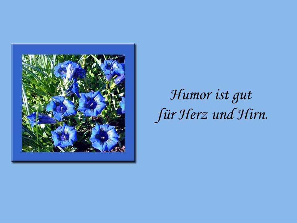 Humor ist gut für Herz und Hirn. Humor ist gut für Herz und Hirn.