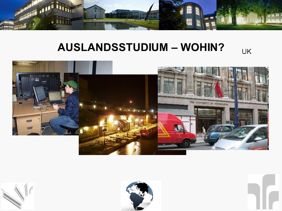 Auslandsstudium – Wohin