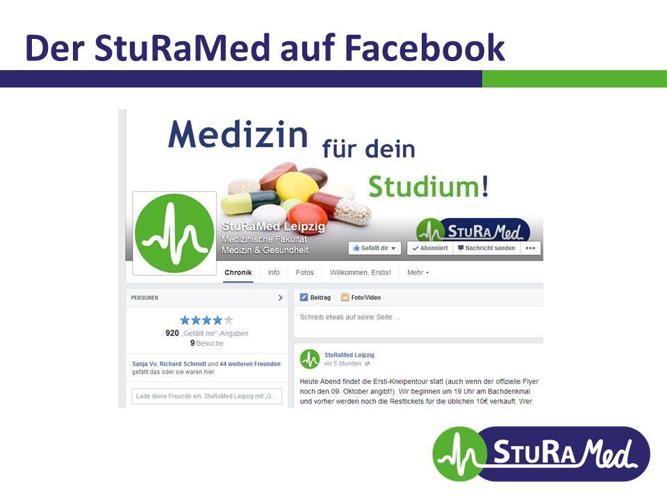 Der StuRaMed auf Facebook