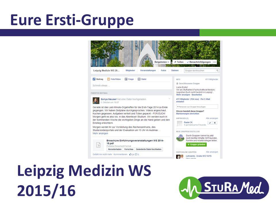 Eure Ersti-Gruppe Leipzig Medizin WS 2015/16