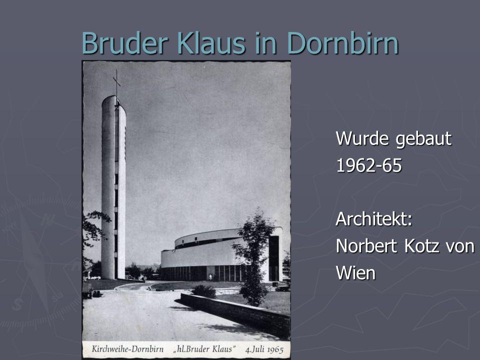 Bruder Klaus in Dornbirn