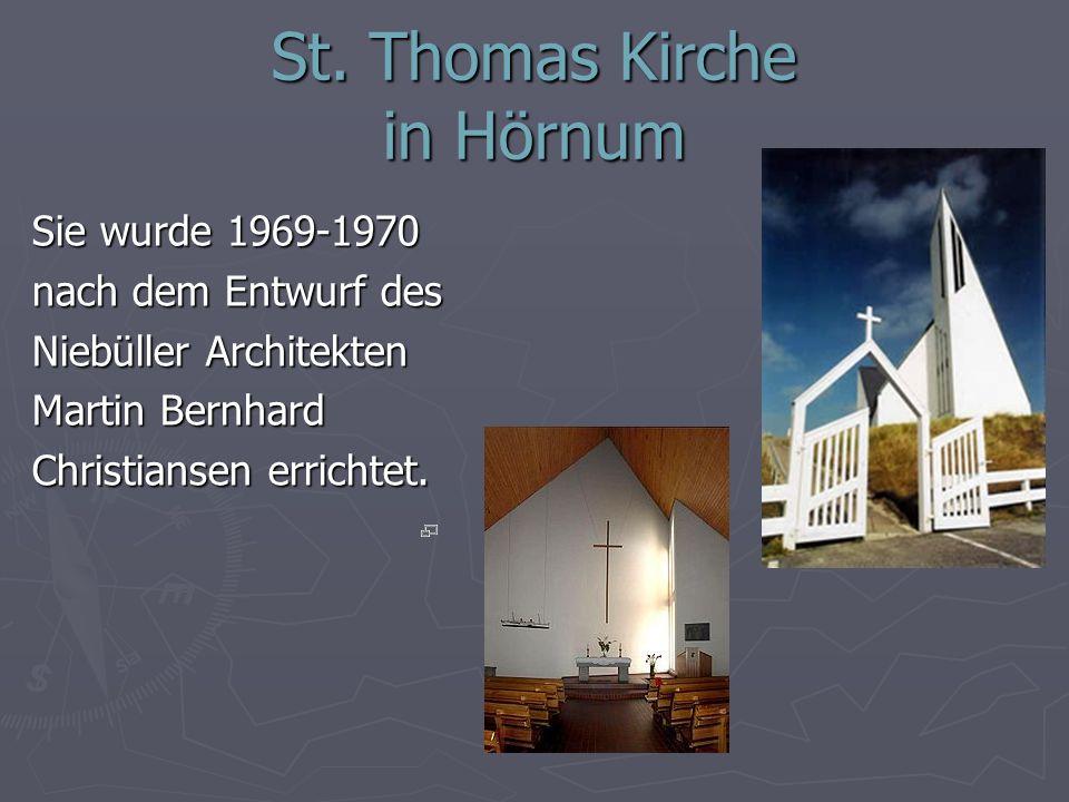 St. Thomas Kirche in Hörnum