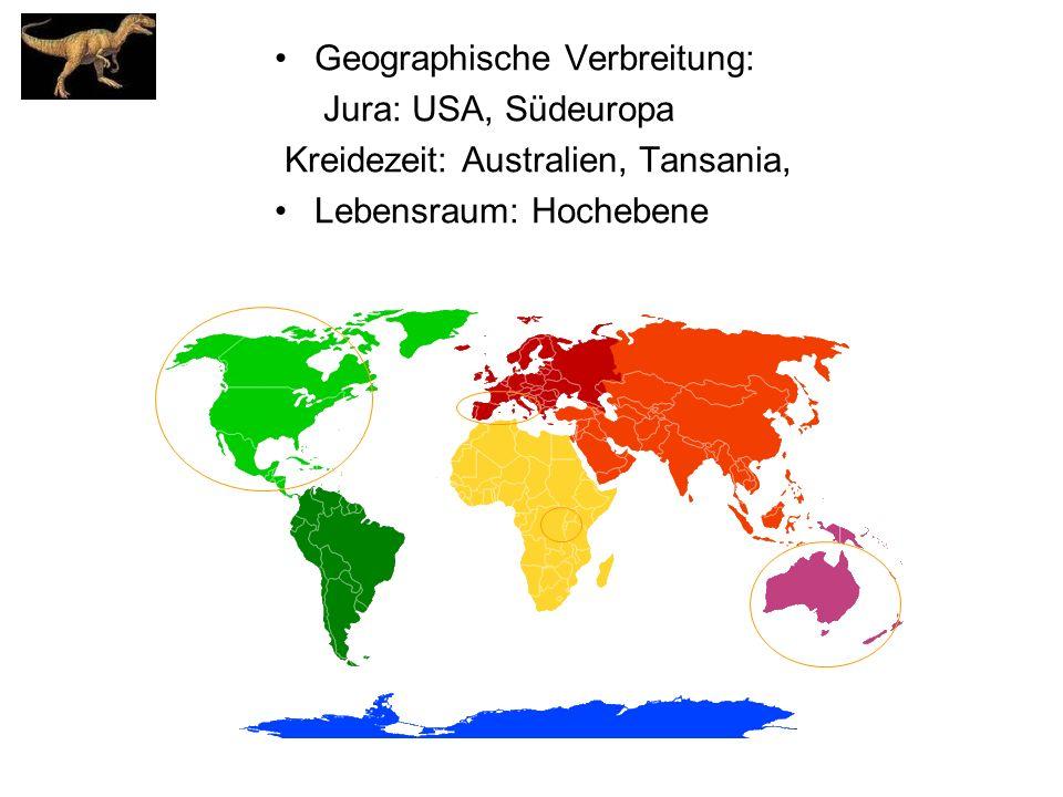 Geographische Verbreitung: