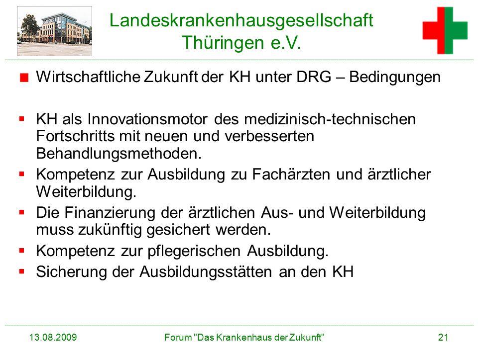 Forum Das Krankenhaus der Zukunft
