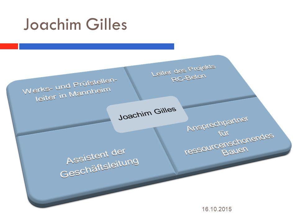 Joachim Gilles 24.04.2017 Joachim Gilles Werks- und Prüfstellen-
