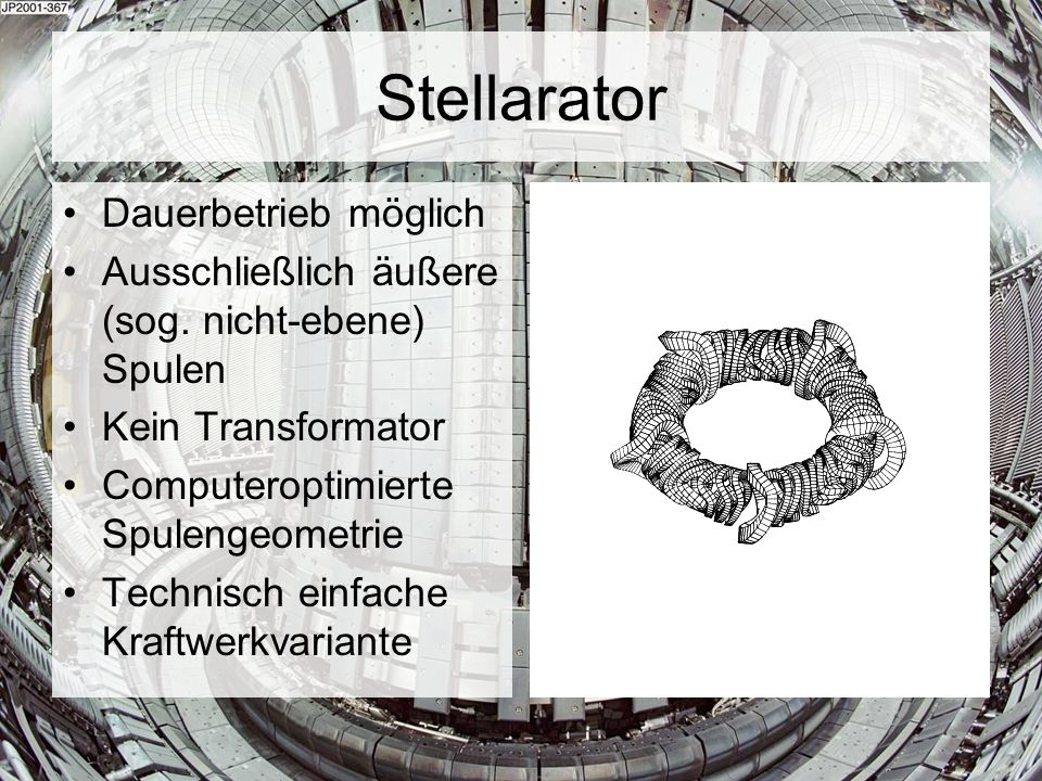 Stellarator Dauerbetrieb möglich