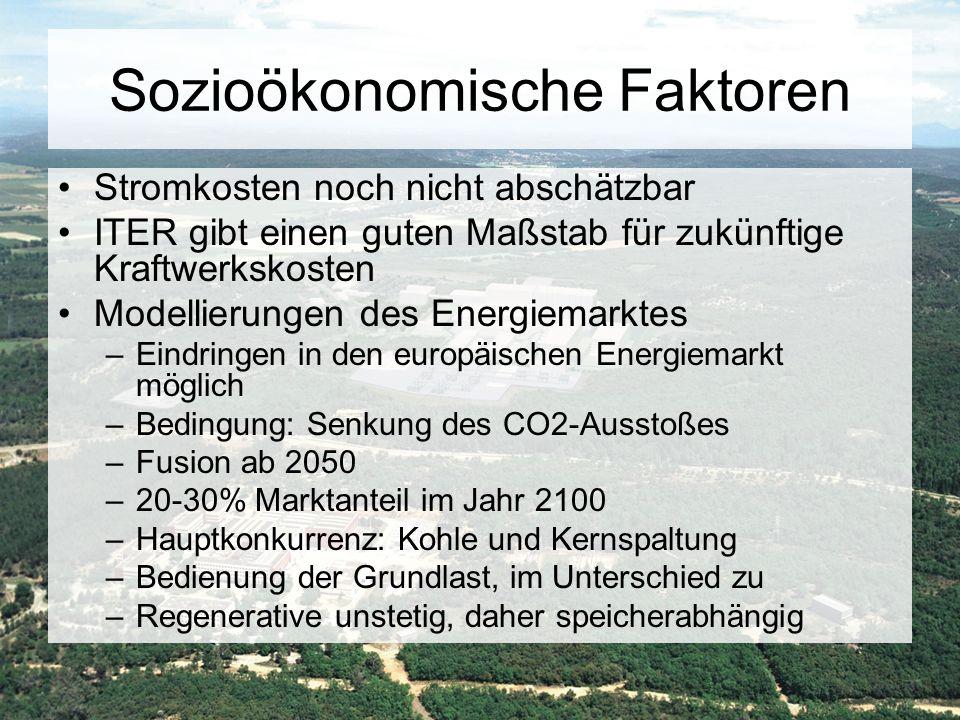Sozioökonomische Faktoren