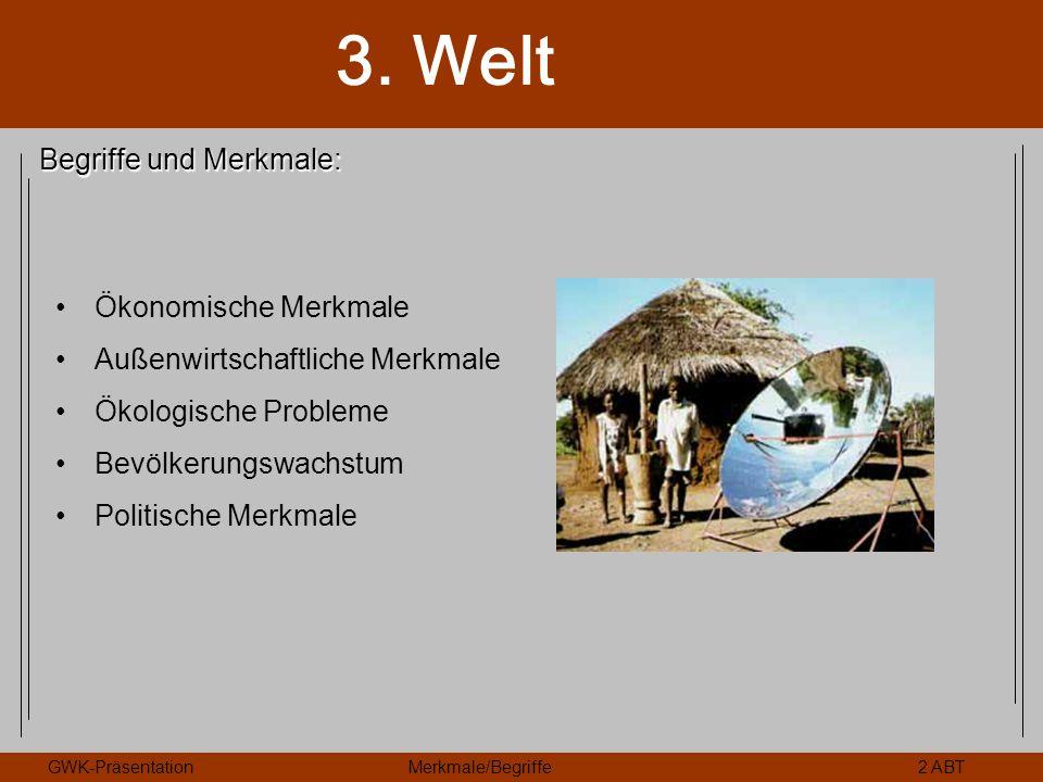 Begriffe und Merkmale: