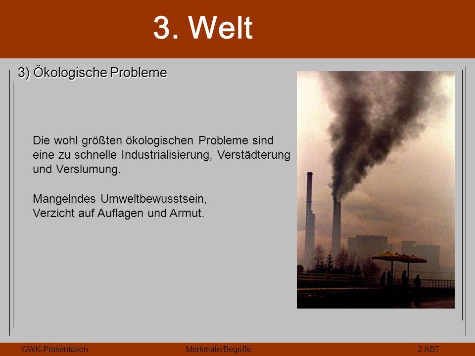 3) Ökologische Probleme