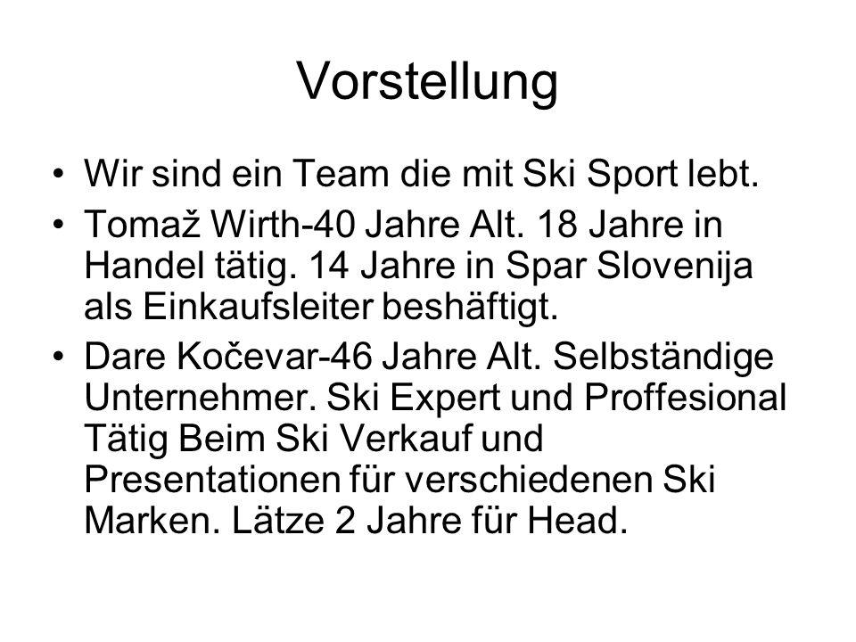 Vorstellung Wir sind ein Team die mit Ski Sport lebt.