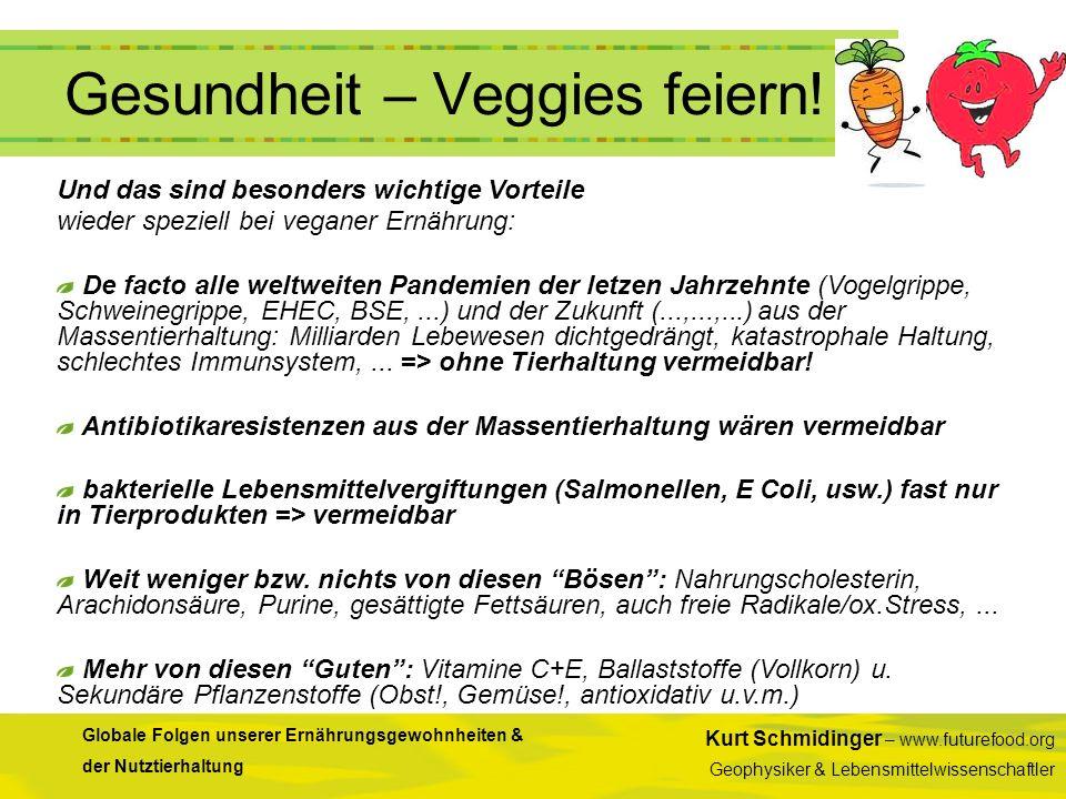 Gesundheit – Veggies feiern!