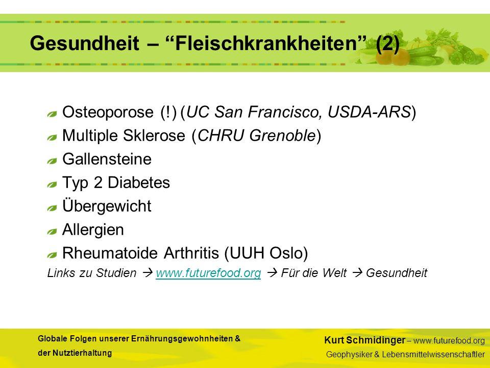 Gesundheit – Fleischkrankheiten (2)