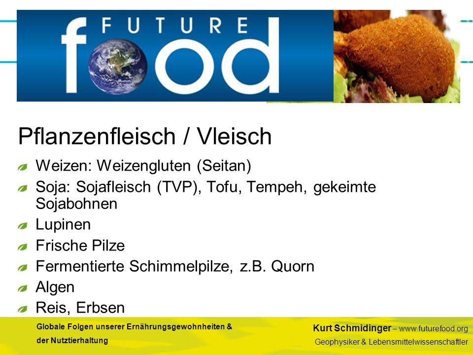 Pflanzenfleisch / Vleisch