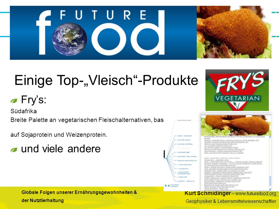 """Einige Top-""""Vleisch -Produkte"""