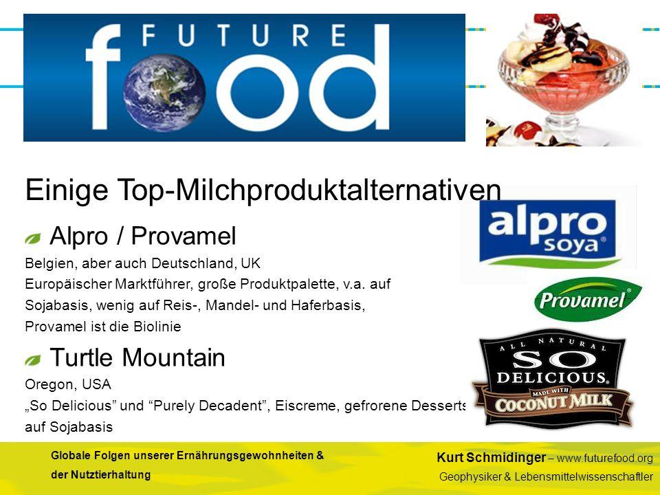 Einige Top-Milchproduktalternativen