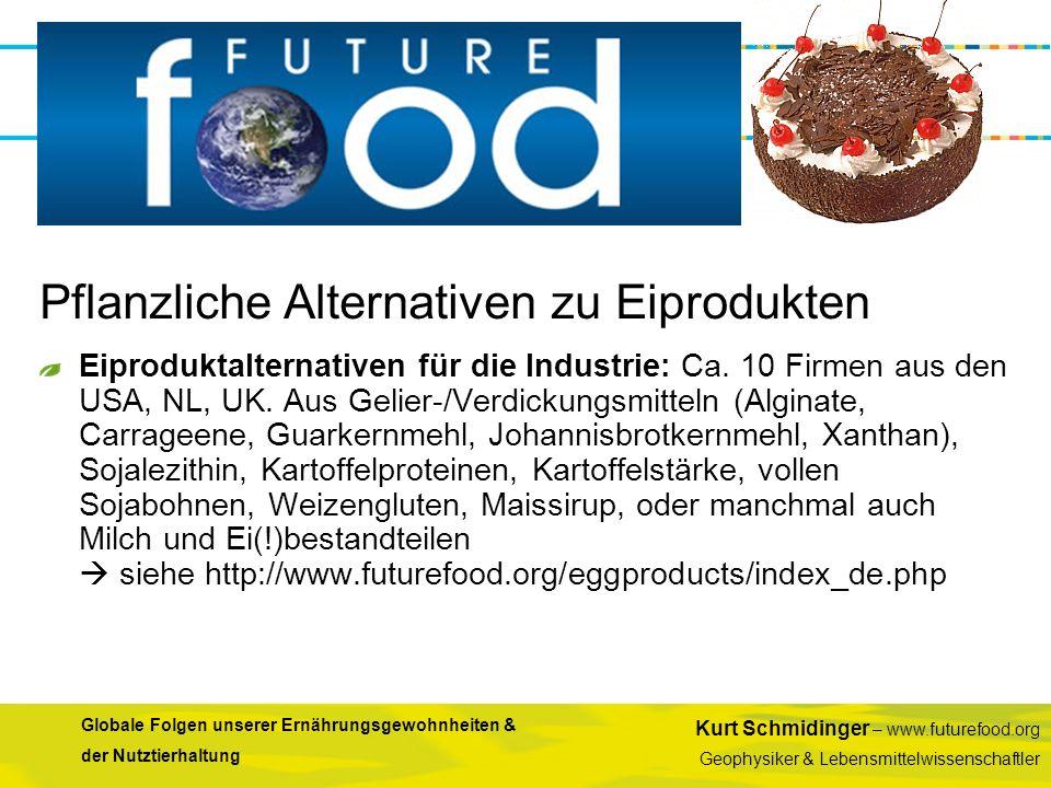 Pflanzliche Alternativen zu Eiprodukten
